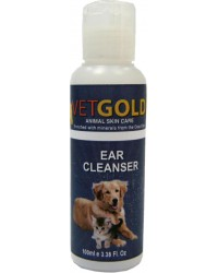 VETGOLD EAR CLEANSER 100ml
