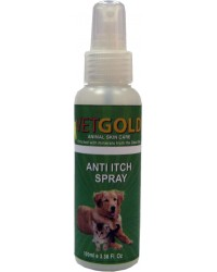 VETGOLD ANTI ITCH SPRAY 100ml
