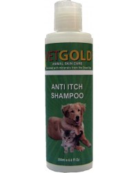 VETGOLD ANTI ITCH SHAMPOO 200ml