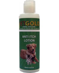 VETGOLD ANTI ITCH LOTION 200ml
