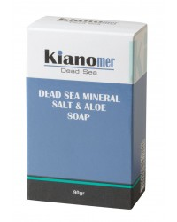 Dead Sea Mineral Salt & Aloe Soap